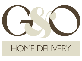 Welcome to G&O Foods Delivery Logo