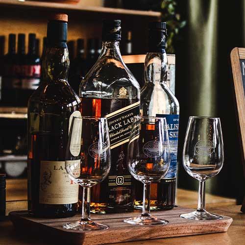 Beers & Cider, Wine, Liquors & Spirits